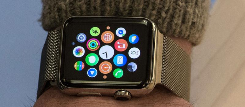 El Apple Watch estará disponible en nueve países a partir del 24 de abril. Foto: AFP