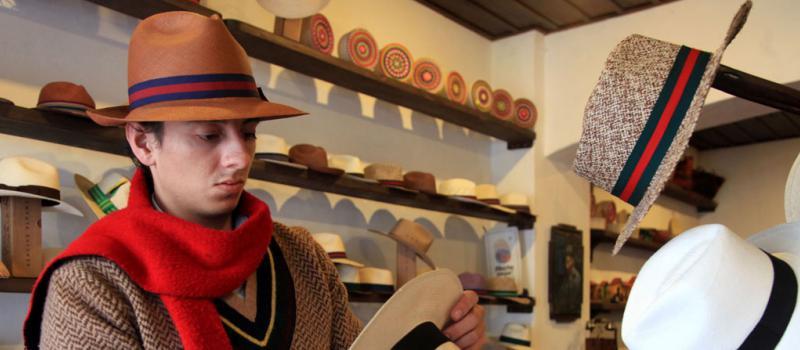 La exportación de sombreros de toquilla sube  d6192f6a08a