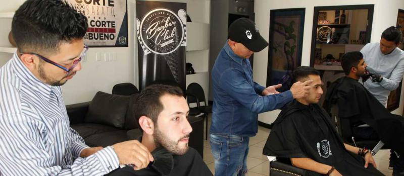 The Barber Club abrió un local en Quito hace cerca de un año. Foto: Paúl Rivas / LÍDERES