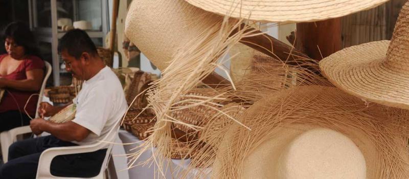 Campaña por el sombrero de paja toquilla  fc40e29be10