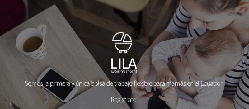 Lila Working Moms ha hecho de la modalidad de trabajo flexible su emblema. Foto: Captura