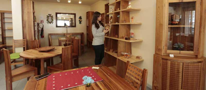 Muebles artesanales con identidad andina | Revista Líderes