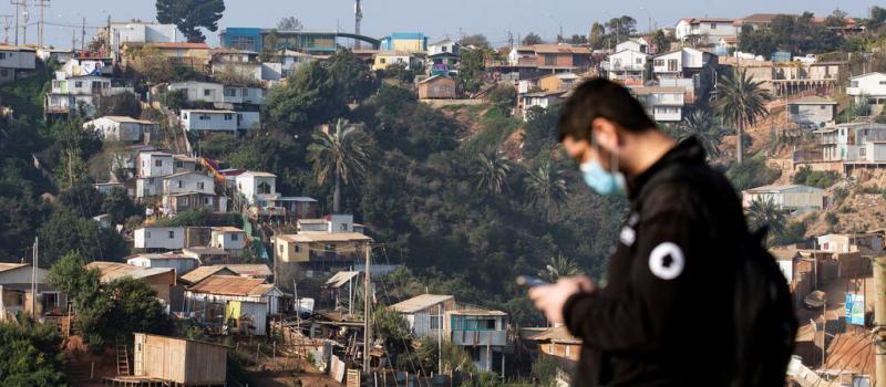 Los cinturones de pobreza en los países de la región reflejan las realidades que se viven día a día. Fuente: Archivo