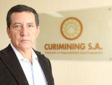 Fredy Salazar; su empresa minera se cotiza en Toronto